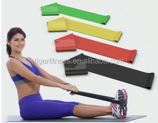 latex pilates elastic band