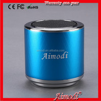 2015 Portable mini speaker with HIFI sound, music mini box portable speaker,mini speaker Aimodi-MN06