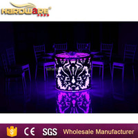 Modern design dining table / dining tables and chairs / round dining table set