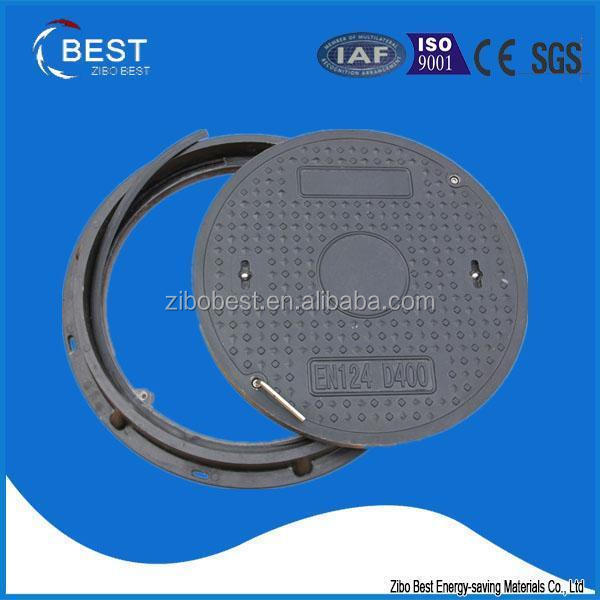 SMC EN124 D400 Watertight Sanitary Sewer Round Manhole Cover
