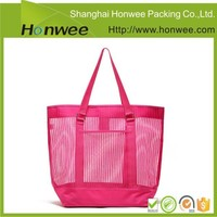 nylon bags mesh laundry bag with handle