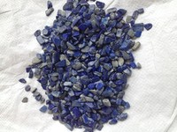Natural blue gemstone gravel aquarium gravel