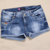 jeans women denim shorts 2016 for jeans pant ripped hot shorts ladies sex skinny jeans women