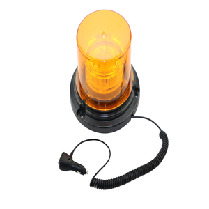 12v 30v amber led forklift truck safety strobe warning beacon light for fork lift