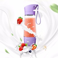 best selling products USB cable rechargeable juicer mixer grinder with battery charger