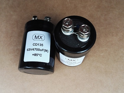 Aluminum Electrolytic Capacitor 100V 47000uF Screw Terminal,CD135 Electrolytic Capacitor 47000MFD 100V