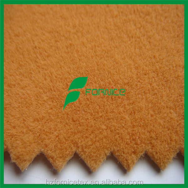 100% nylon flock material for curtain fabric
