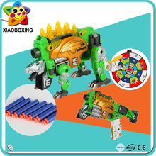 New Arrival Toys Dinosaurs Transformable Gun Toy For Adult
