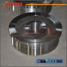 High quality steel rail wheel for cranes manufacturer
