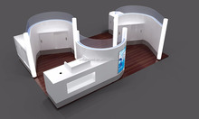 Popular Customized Teeth Whitening Kiosk For Sale Used In Mall