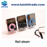 "very cheap ""C"" button mirrorno screen plastic digital mp3 player with Free logo print"