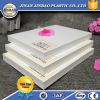 JINBAO white engrave 4x8 high quality hard pvc foam sheet 3mm