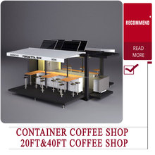 2016 China New Hot Selling Container Shop Mobile Shop Mobile Container coffee shop