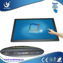 Christmas Most Popular 19Inch LCD Touch All-In-One PC/ Fanless PC With Intel Atom D525 Dual Core CPU 1.8GHz