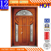Best Price Luxury Design Effect Carving Security Steel Door Factory Direct Exeterior Double Open Door
