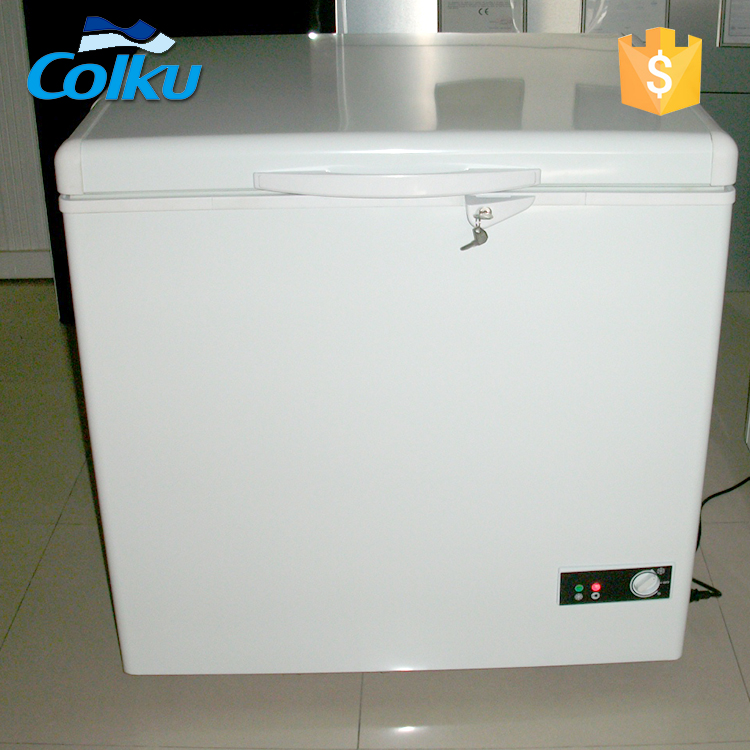 160L Solar Power Refrigerator Fridge Freezer
