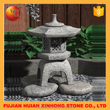 Art design stone pagoda garden furniture hand made