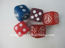 flashing dice/light dice/led flashing dice