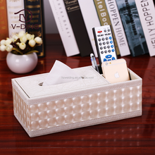 vding from China professional manufacturer high quality leather grape patterns mother of pearl tissue box