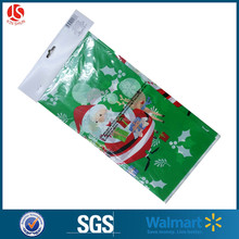 Vinyl Xmas plastic table cover Dollar General retailing stores
