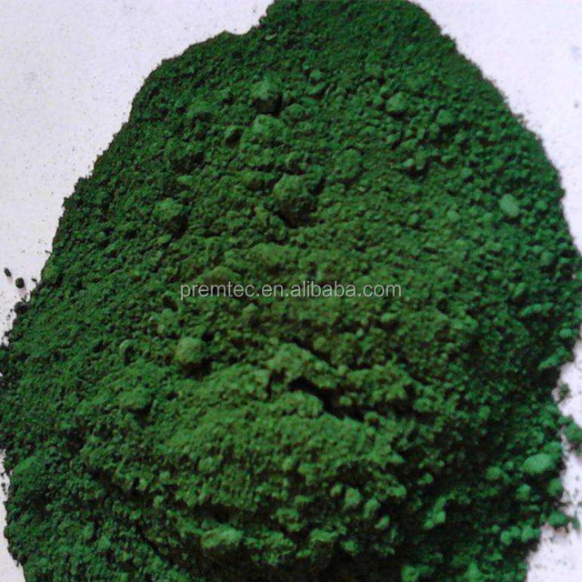 Chrome oxide green 99.8%min Metallurgical grade / ISO manufacturer