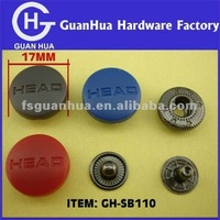 button factory Plastic button colorful garment snaps buttons