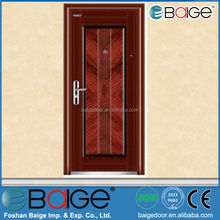BG-S9040 used single metal security steel doors for home