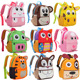 Hot sale cheap baby plush animal toy school backpack for kids in stock