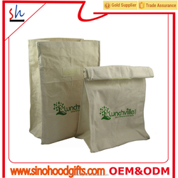 customize wholesale hottest cotton canvas eco lunch tote lunch bags