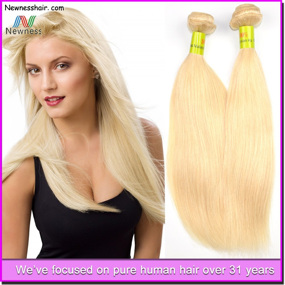 Grade AAAAAA top quality unprocessed 100% virgin machine made european hair color brand