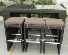 Wicker Bistro and Pub Furniture (SV-2032)