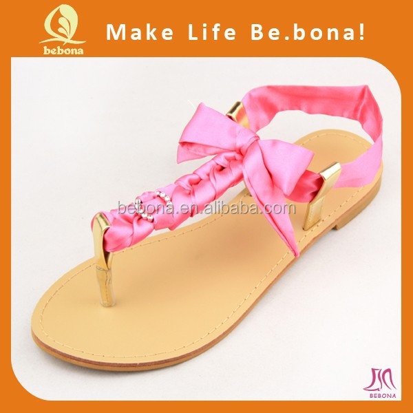 2015 ROPE Upper Material and Women Gender Handmade fashion beach spring summer rope flip flop sandals