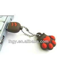 2013 New style Claw shape OEM design usb memory with high quality