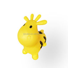 hot sale PVC inflatable jumping animal new design 1250g jumping cute cow with printing