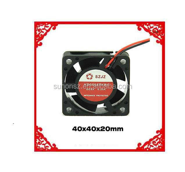 Shenzhen 40mm cooler fan dc 4020 fan Micro Axial Flow Fan