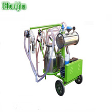 Cheap price Double Bucket automatic cow milking machine nepal HJ-CM011