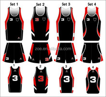 2016 new style 100% ployester Custom full sublimarion quick dry top sale basketball jersey