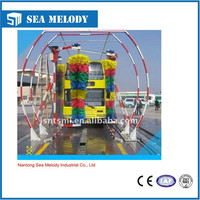 mini rollover bus washing machine, foam machine for car wash, bus cleaning system