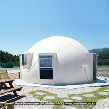 [Human&Space] Prefabricated House, frp dome house, modular houses, low cost houses
