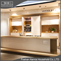 Australia style free handle modern kitchen cabinets