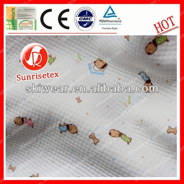 Hot sale Breathable bamboo fabric towel for cloth diaper
