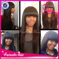 Chinese hair wig store 100% human brazilain hair fringe lace front wigs in michigan