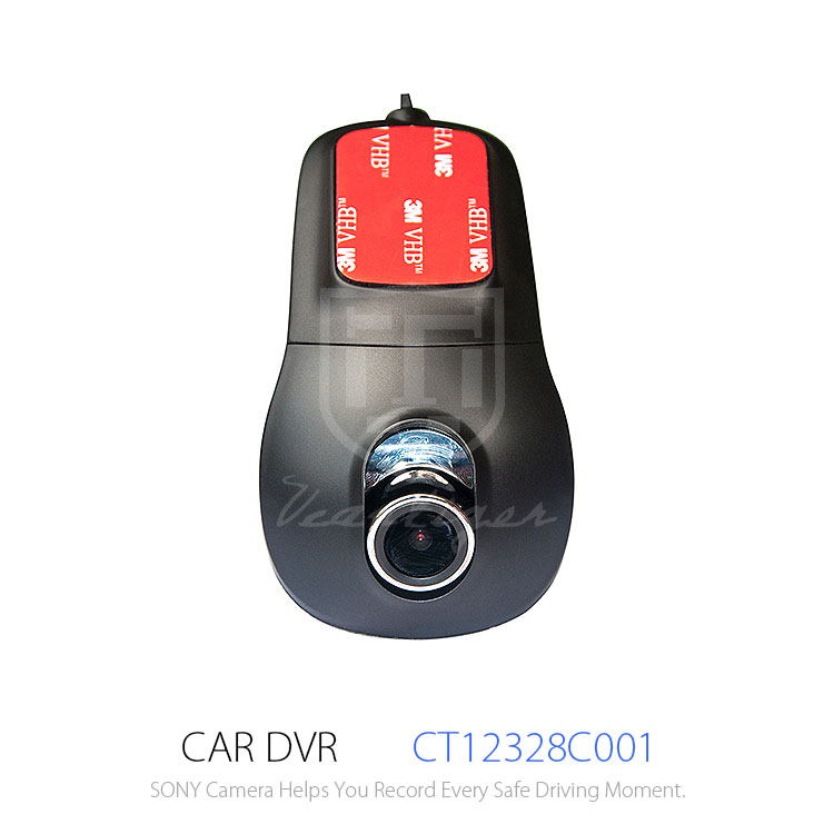 R300 Manual Car Camera HD DVR with Dual SONY Lens