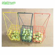 Colors Tennis Hopper / Tennis Basket / Tennis Bucket --Holds 72 ball