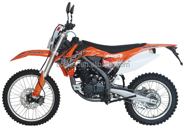 KTM style high quality 250cc J1 enduro dirtbike with light mirror china manufacture best sellers of 2014