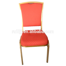 linen/lint/PVC/PU fabric steel frame banquet chair for restaurant