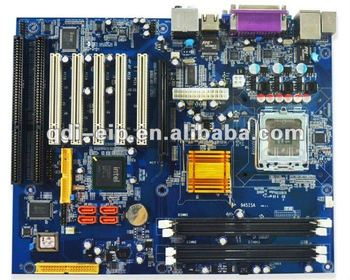 Flex-ATX Motherboard with 2 ISA slots and 5 PCI Slot
