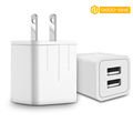 wholesale supply electric type dual usb2.0 charger have fast speed for xiaomi redmi 3 and other cellphone