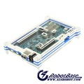 Intel Edison Acrylic Enclosure White Blue Case for Edison Development Board