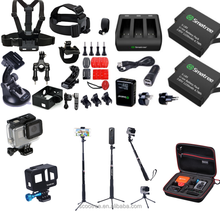 2017 High Quality Cheapest Price GoproS Accessories set/Gopros Heros5 Camera Accessories Sets for XiaomiS yiS Camera and Gopros